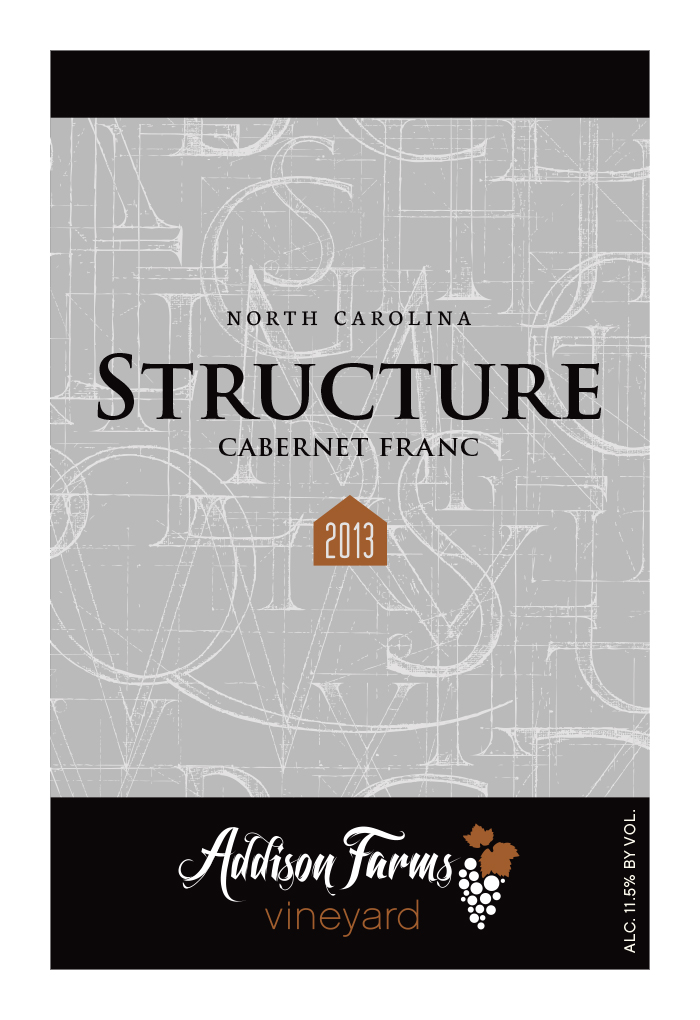 2013 Structure label