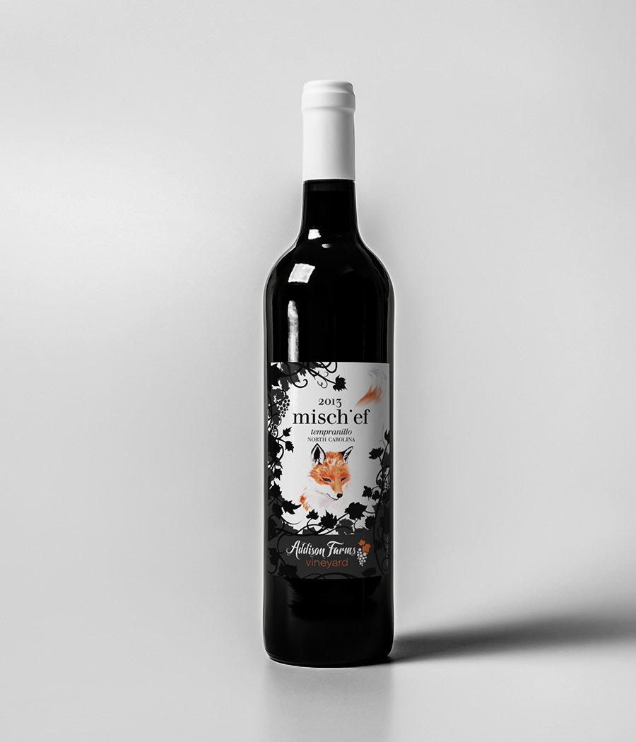2013 Mischief, our first Tempranillo.