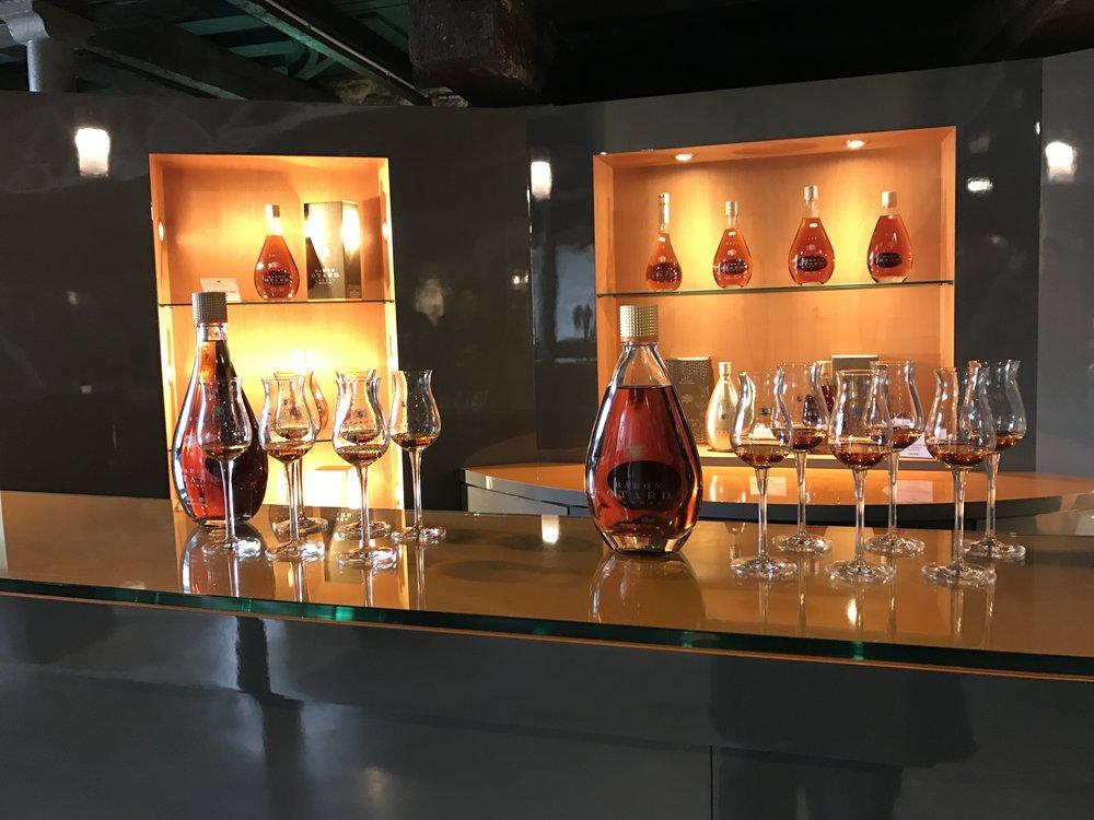 Otard Cognac tasting