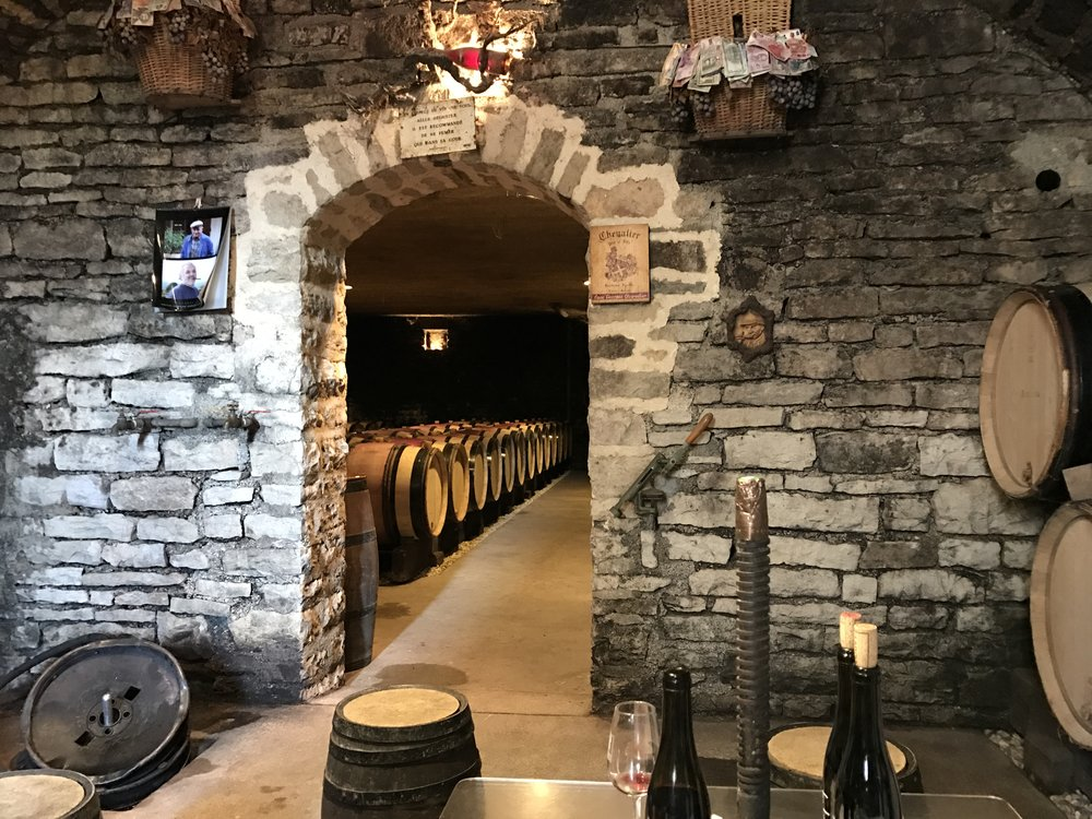 The cellars at Chevalier