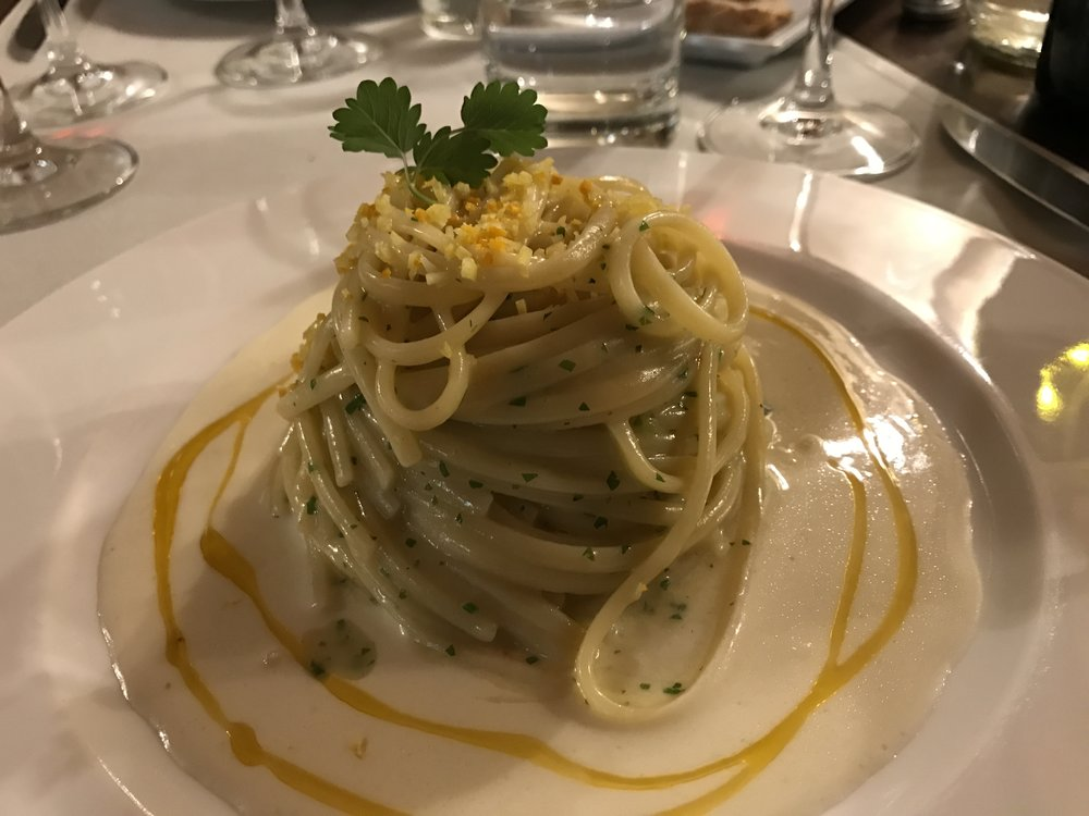 Linguine con pepperoncini
