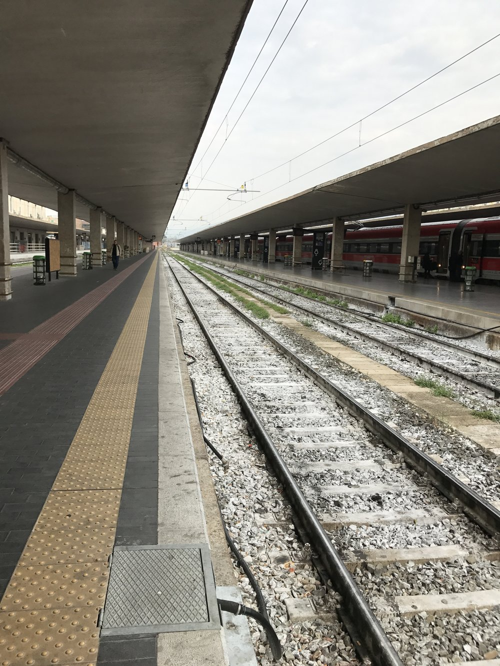 The tracks at Firenze SMN