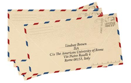 rome letter