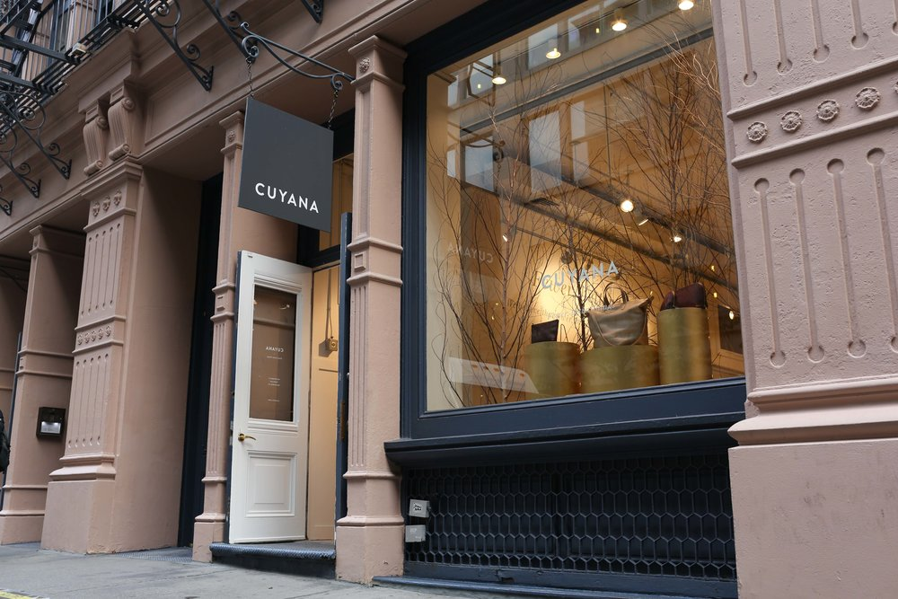 Cuyana Pop-Up.  NYC, 2014.