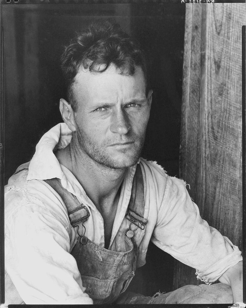 Many photographers, perhaps, could have also use writing to enhance their storytelling, but Parks and Evans seized the written word and used it to their advantage. - Floyd Burroughs, cotton sharecropper.Hale County, Alabama, 1935. Walker Evans, Melville House Books