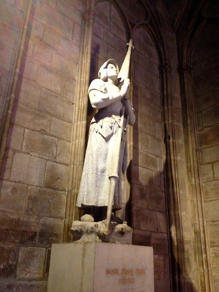 Joan of Arc, Notre Dame de Paris