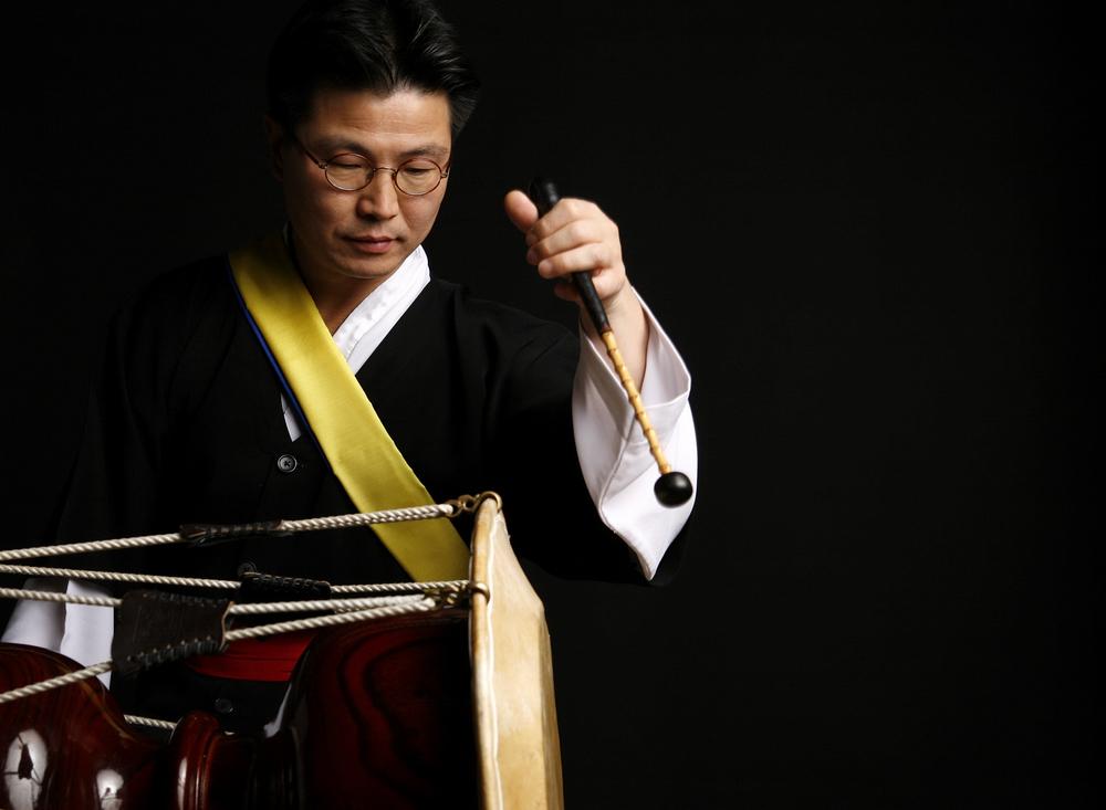 Kim Dong-Won, master drummer