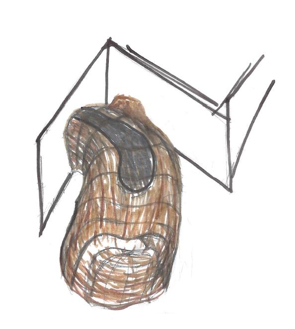 exterior axonometric