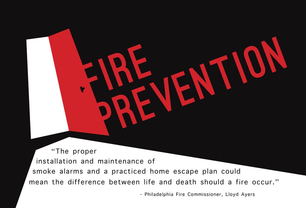 fire prevention exhibit graphics