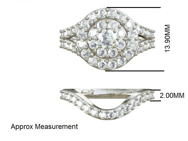 We can make a matching band for your ring. -