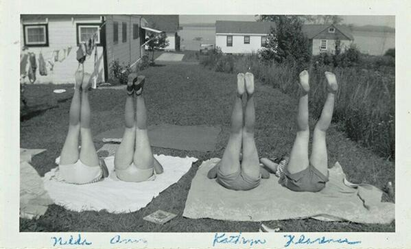 Image Via Girls Standing on Lawns by Maira Kalman