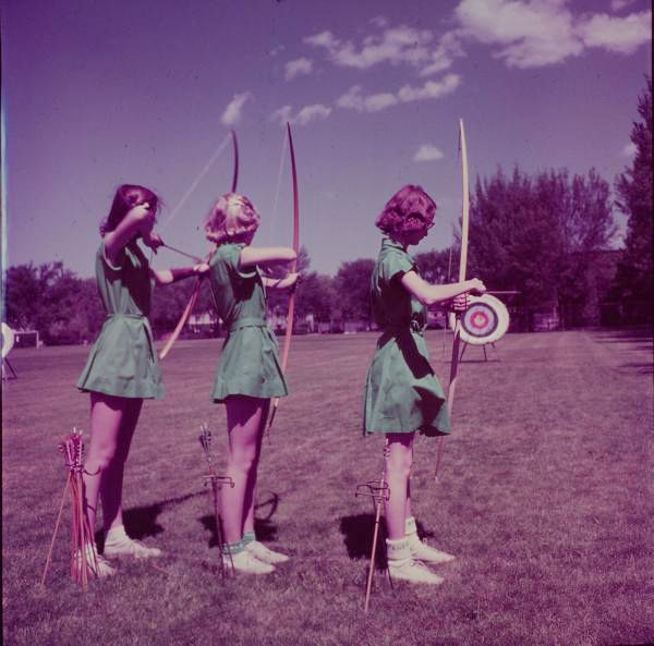 Archers byAlfred Eisenstaedt