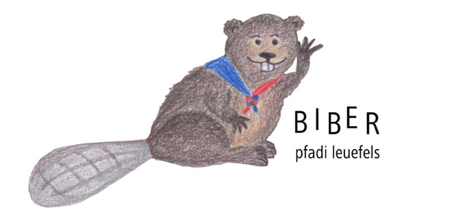 Logo Biberstufe Pfadi Leuefels