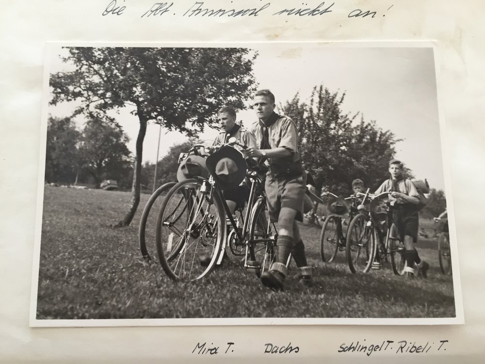 1938.5 Kantonaler Pfadertag Bischofszell, Abteilung.JPG
