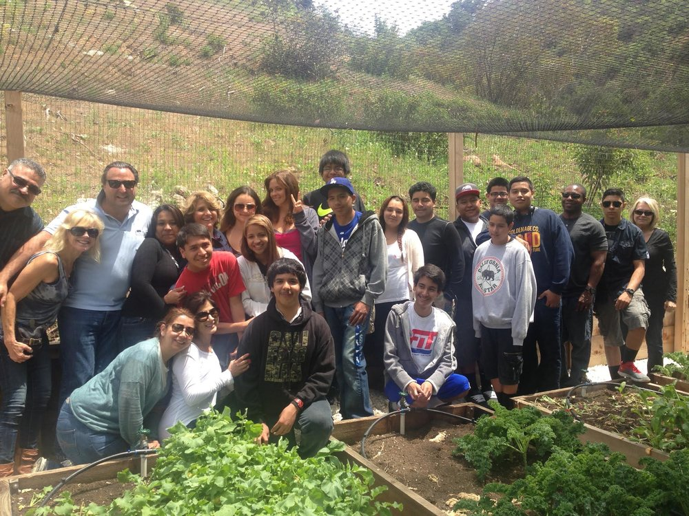 Kenter Canyon Farm outreach - 2017