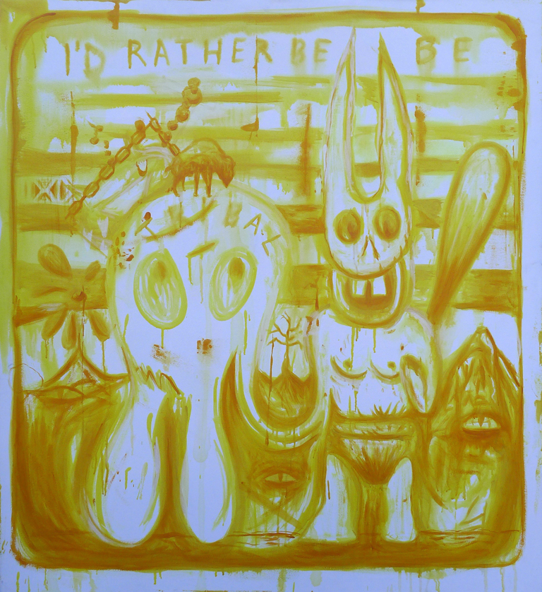 web res_Ricafort_I'd Rather Be Tribal_acrylic on canvas_50x46 inches_2012.jpg