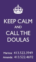 "Click ""Call the Doulas"" to Book a FREE 15 minute phone consult."