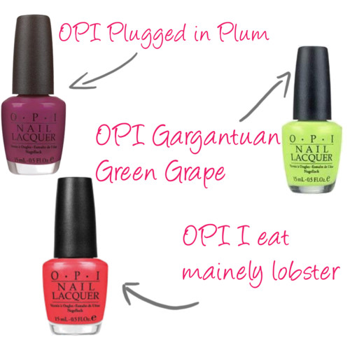 Foodie Beauty: Nail Polish Names — Healthfully Ever After