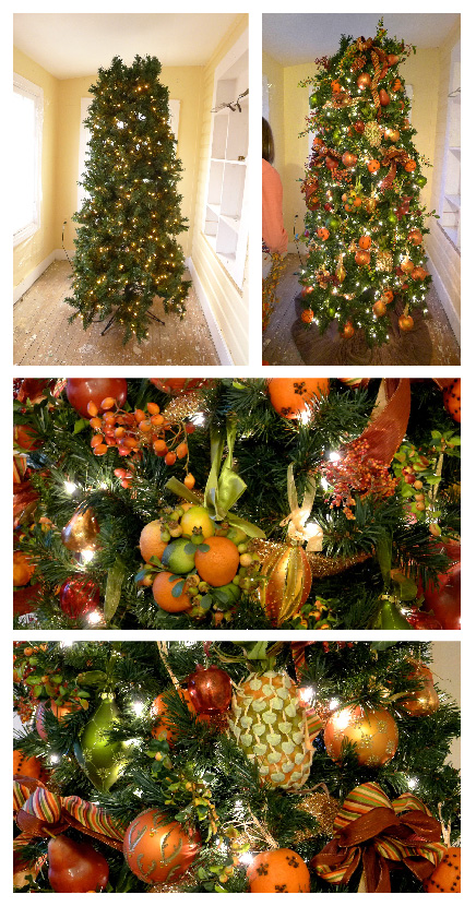 Christmas Tree Decoration Berries : My holiday decorations the fruit christmas tree