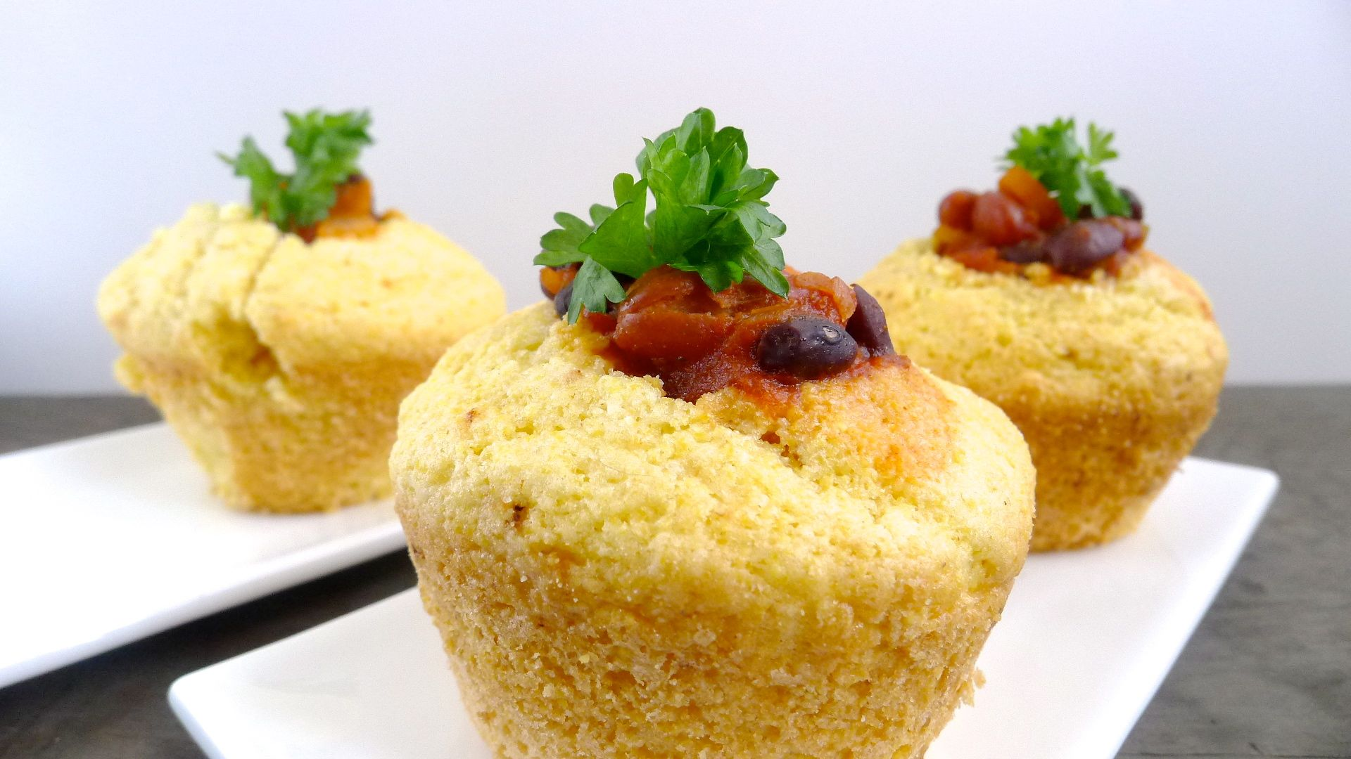 Cornbread Black Bean Party Muffins Ohcarlene