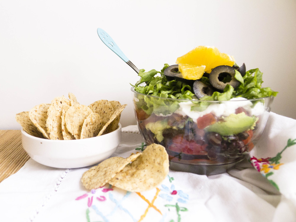 Cinco De Mayo: Skinny Seven Layer Dip — Healthfully Ever After