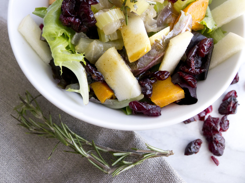 healthy thanksgiving salad
