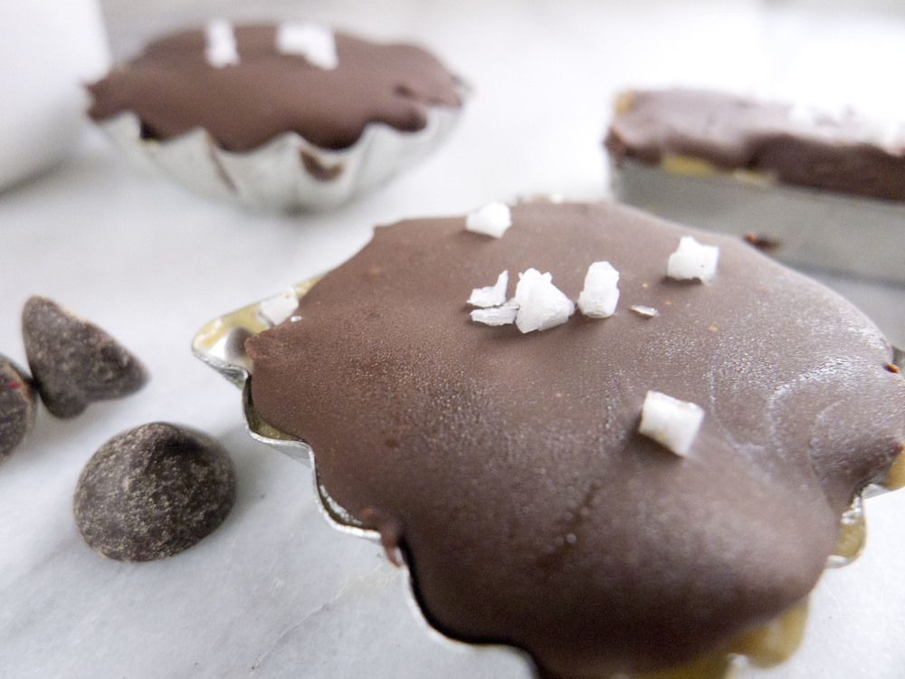 Home Made Sea Salt Peanut Butter Cups — Healthfully Ever After