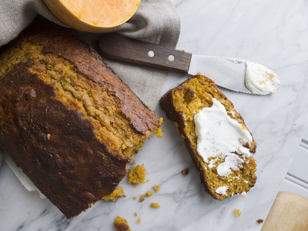 butternut squash bread