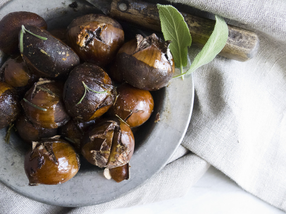 how to roast chestnuts