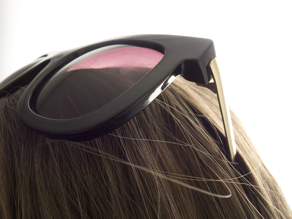 moorea seal audrey gold classic sunglasses