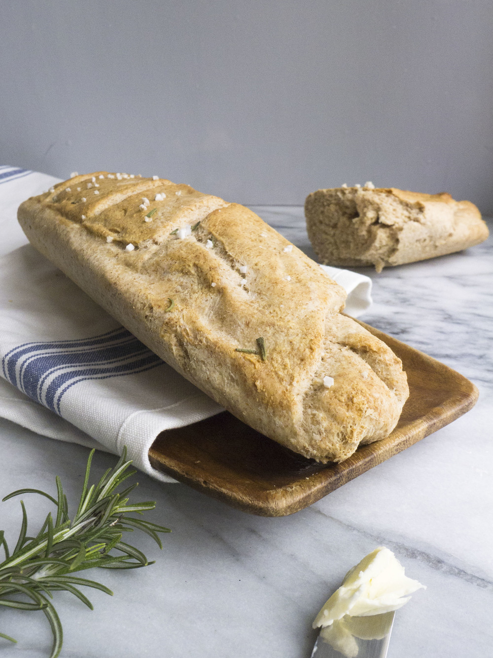 easy whole wheat baguette recipe