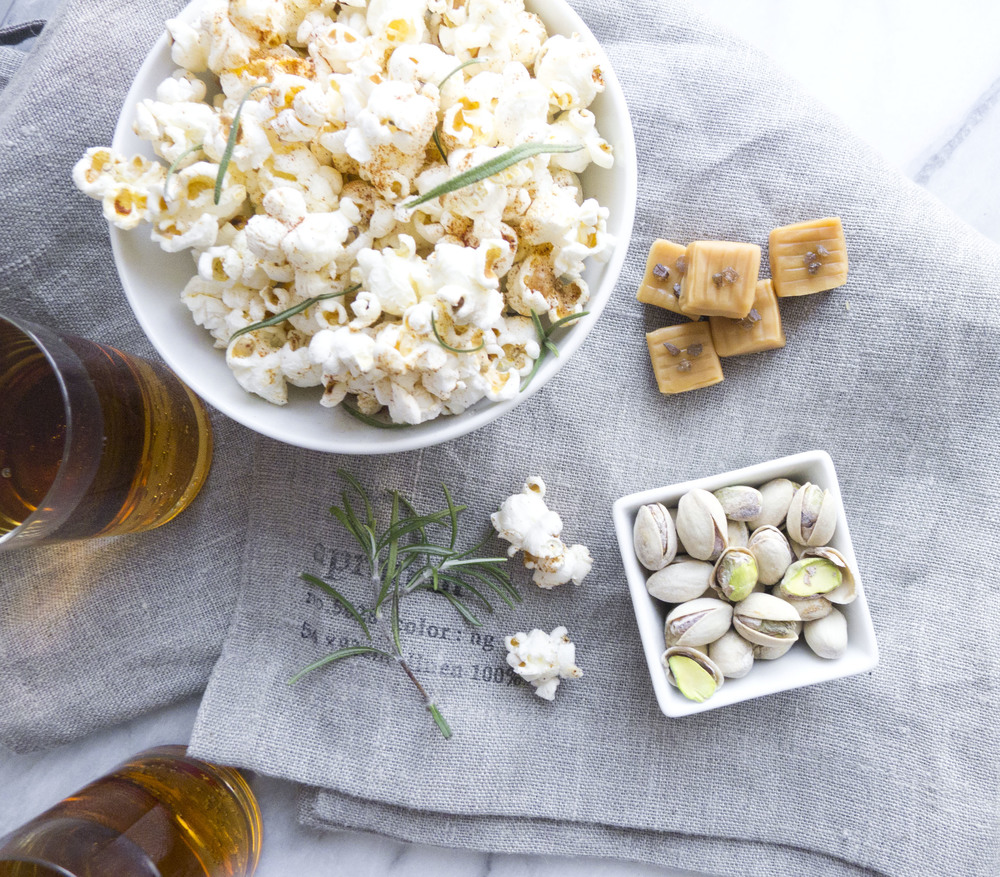 Caramel-Masala Popcorn And Pistachios From 'Salty Snacks' Recipe ...