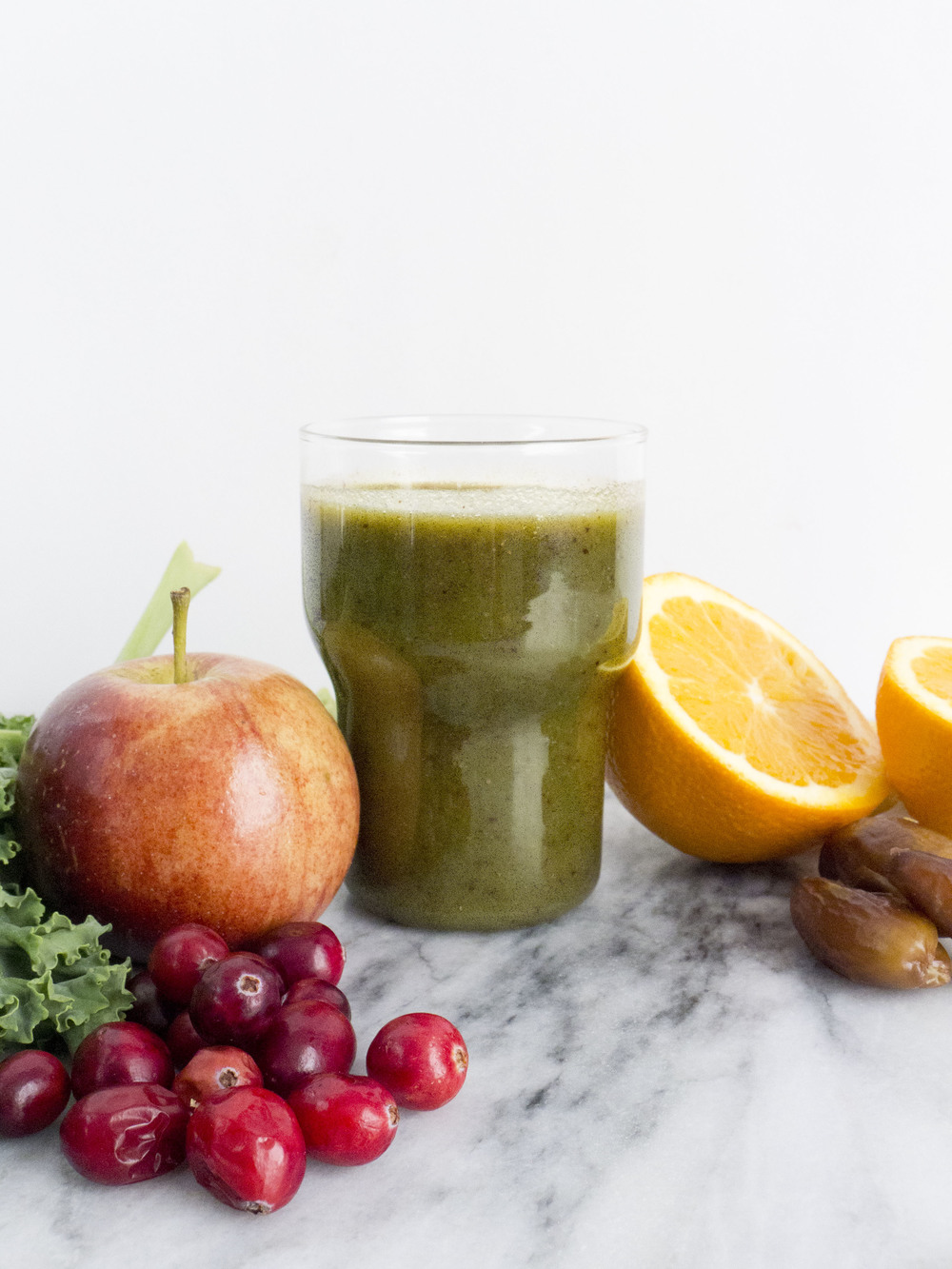 kale cranberry beauty booster smoothie