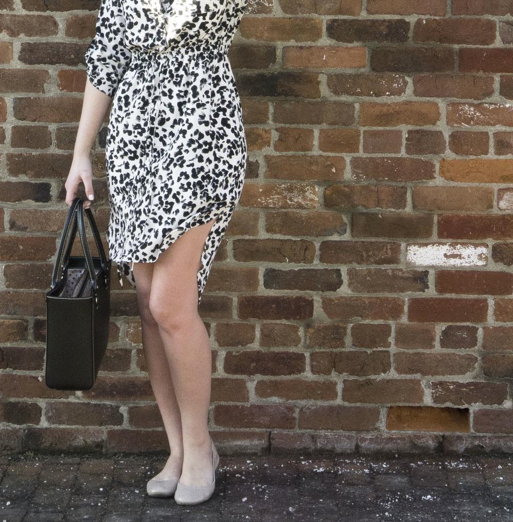 dalmatian print dress,
