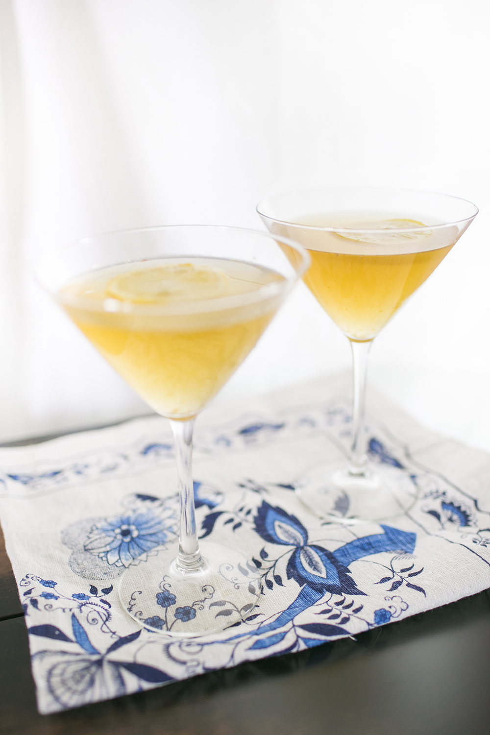 On Style Me Pretty Living: Apricot Tea and Cocktail