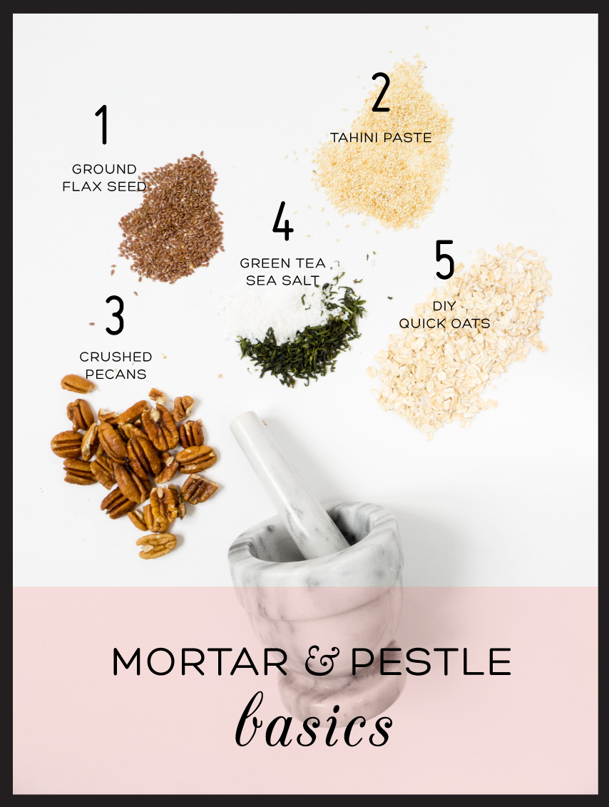5 Things To Do With a Mortar And Pestle