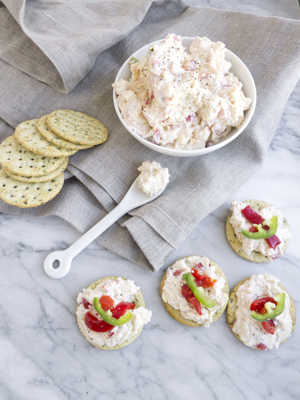 Healthy Hostess: Skinny Pimento and Cheese