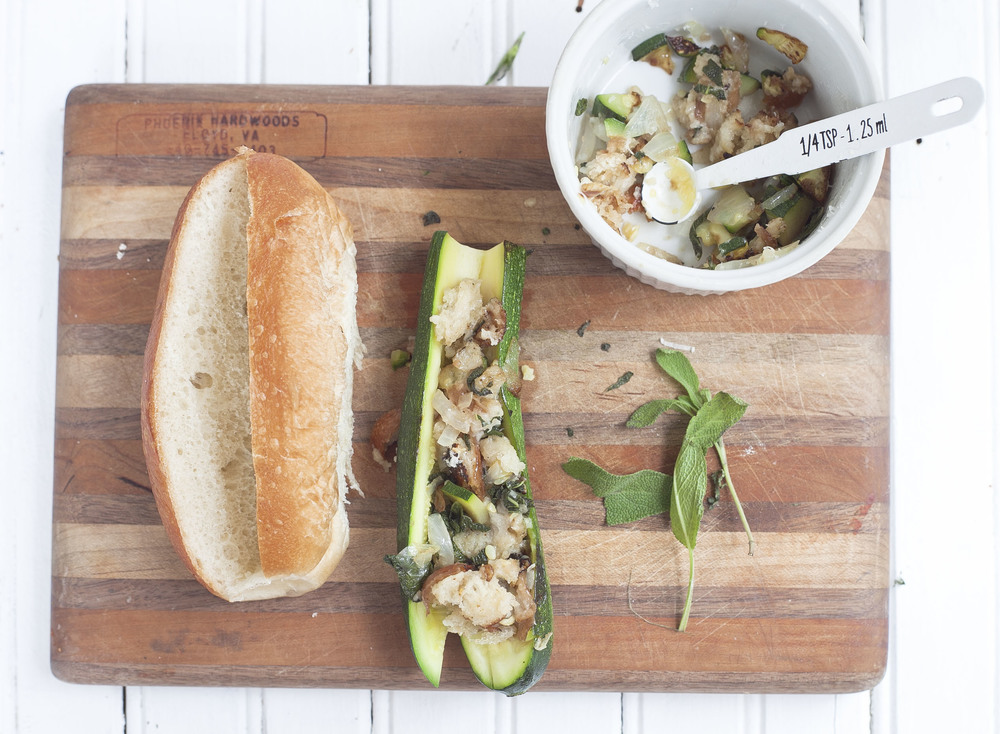 Healthy Hostess Garden Dog: Zucchini Hot Dog Recipe
