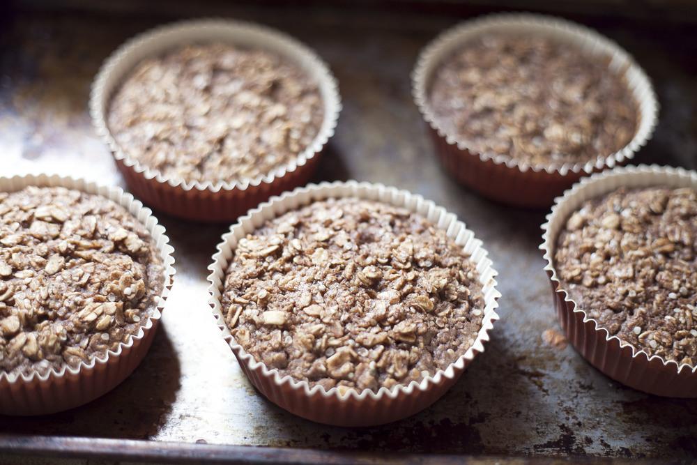 Cinnamon Bun Oatmeal Cakes