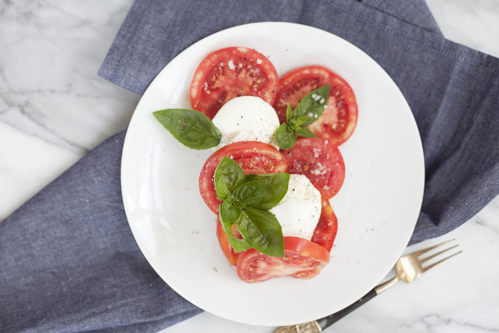 Breakfast Caprese Salad