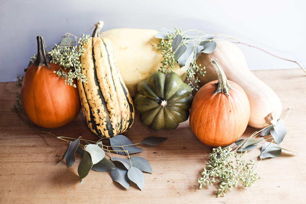 Winter Squash 5 Ways: Styled Shoot