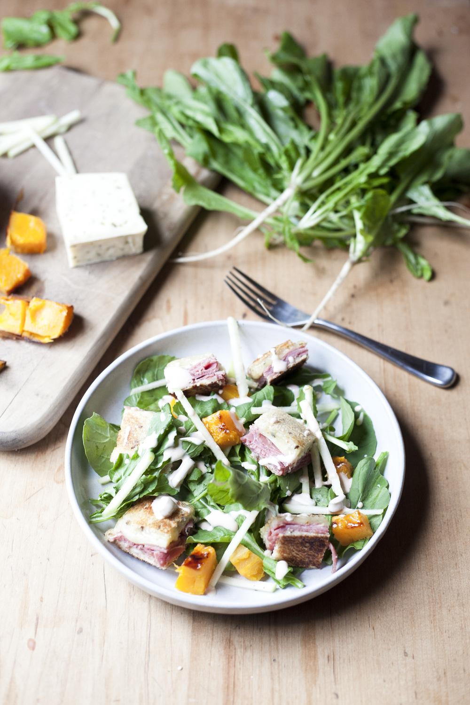 Ruben Crouton Salad