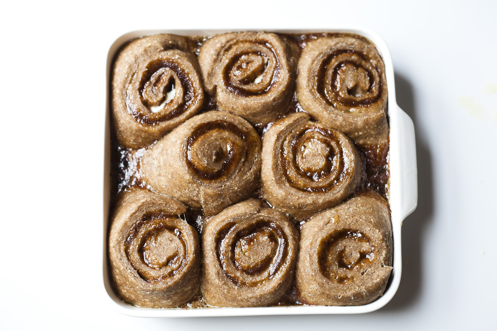 Buckwheat Breakfast Cinnamon Rolls