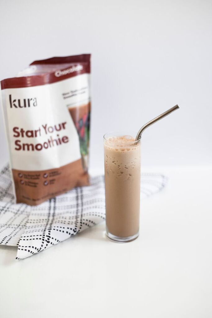 protein iced coffee, kura