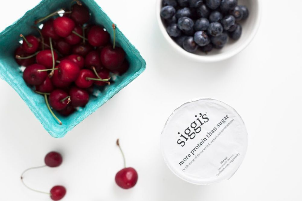 Siggi's Icelandic Yogurt and Fruit