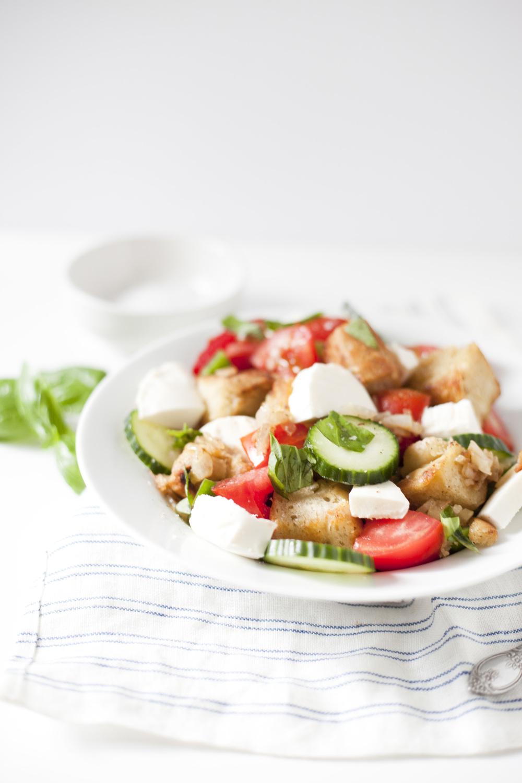 Panzanella Summer Tomato Salad|