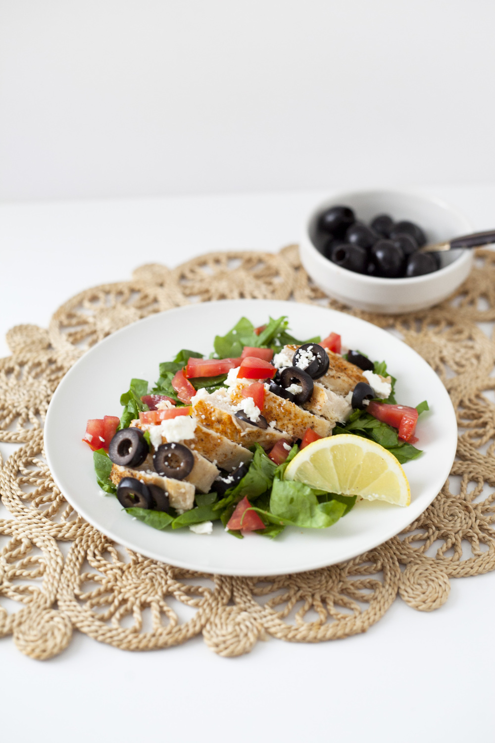 Healthy Dinner Recipe | Easy Lemon Olive Mediterranean Chicken