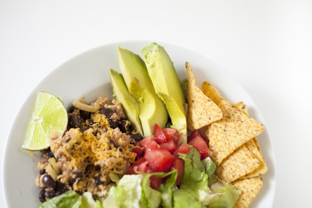 Football Season : Healthy Taco Salad