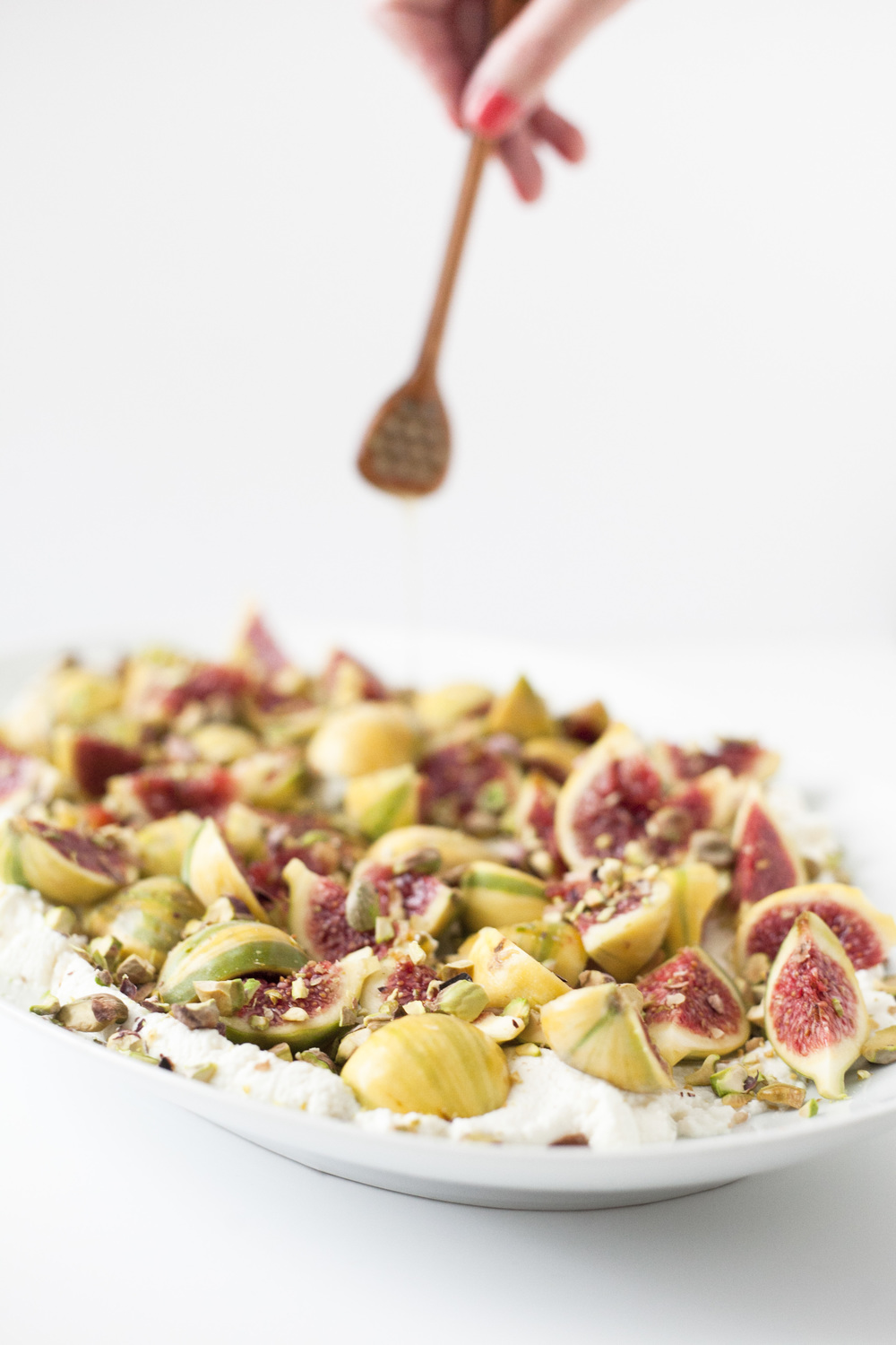 Healthy Summer Side Dish: Fig Ricotta Platter