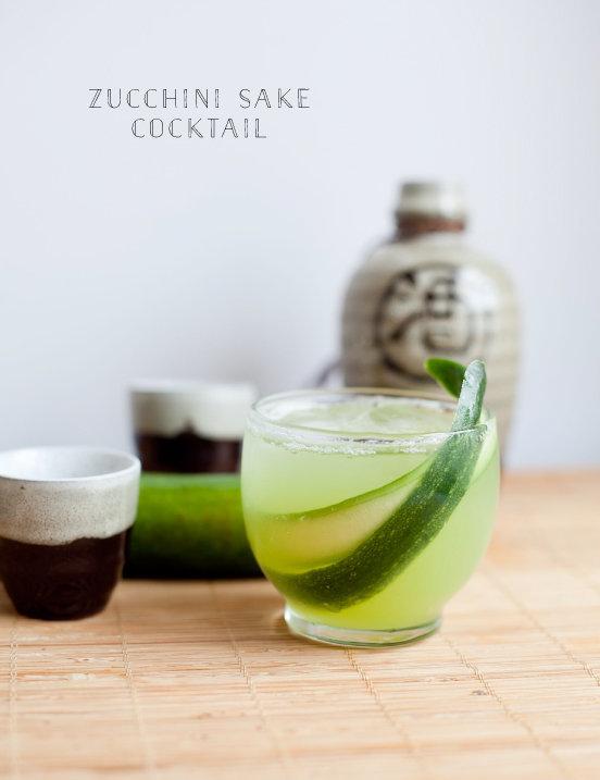 zucchini sake cocktail